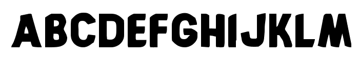 Bronic Font LOWERCASE