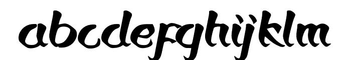 Bronkos Font LOWERCASE