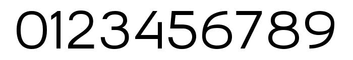 Bronova Regular Font OTHER CHARS