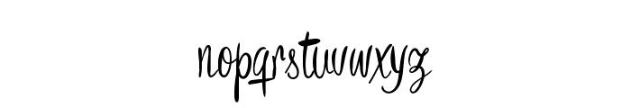 Bronze Script Personal Use Font LOWERCASE