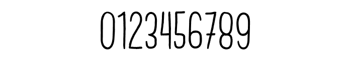 Brook Demo Font OTHER CHARS