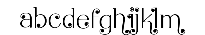 Brook Flair Swash Font LOWERCASE