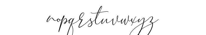 Brooke Smith Script Font LOWERCASE