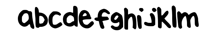 BrookeShappell10 Font LOWERCASE