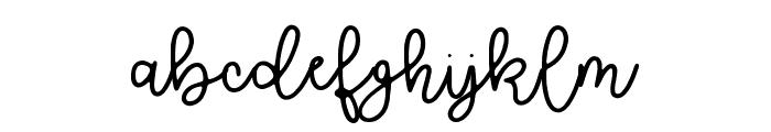 Brooklyn Script Font LOWERCASE