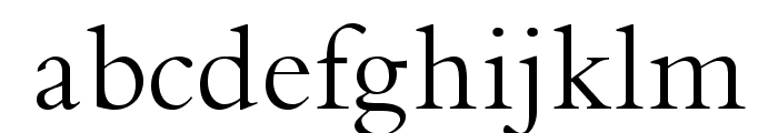 BrophyOpti Font LOWERCASE