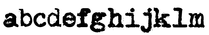 Brother Deluxe 1350 Font Font LOWERCASE