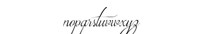 Brotherhood Script Font LOWERCASE