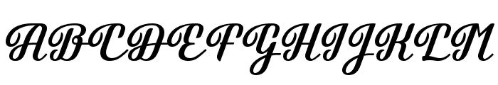 Brotherina Font UPPERCASE