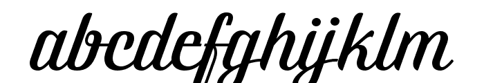 Brotherina Font LOWERCASE
