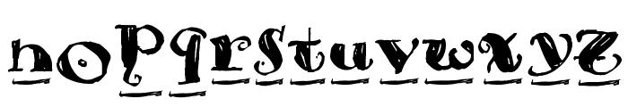 Brouss Font UPPERCASE
