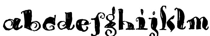 Brouss Font LOWERCASE