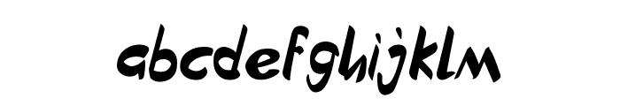 Brownies Regular Font LOWERCASE
