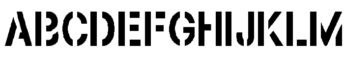 Browning Font UPPERCASE