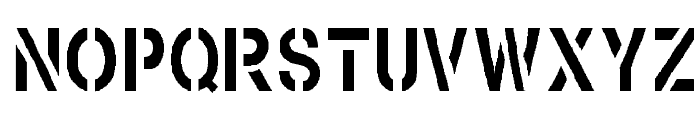 Browning Font LOWERCASE