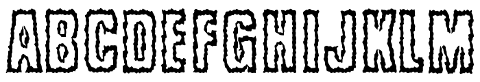 Brrritty Font UPPERCASE