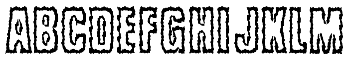 Brrritty Font LOWERCASE