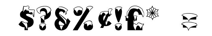 Brrrrr Regular Font OTHER CHARS