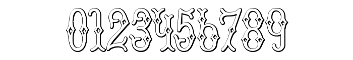 BruceDoublePica Beveled Font OTHER CHARS