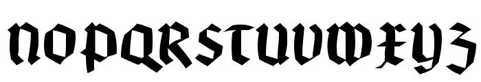 BruchRund Font UPPERCASE