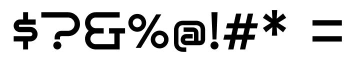 BrunoAce-Regular Font OTHER CHARS