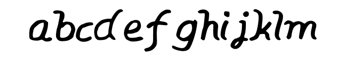 BrunoThg Font LOWERCASE