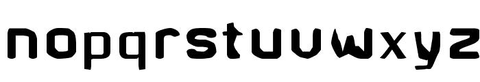 Brunst Font LOWERCASE