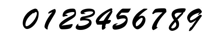 BrushScriptOpti-Regular Font OTHER CHARS
