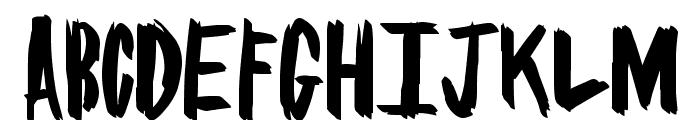BrushSome Font UPPERCASE