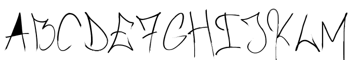 Brush_Of_Anarchy Font LOWERCASE