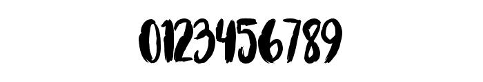 Brushcheetah Regular Font OTHER CHARS