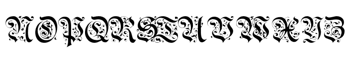 BrusselsTitlingCaps Font UPPERCASE
