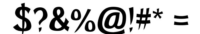 Brutal GG Font OTHER CHARS