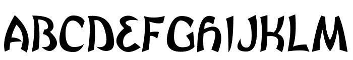 Brutal GG Font UPPERCASE