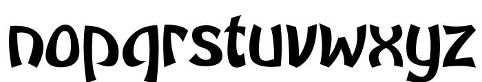 Brutal GG Font LOWERCASE