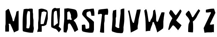 BrutalityExtra Font UPPERCASE