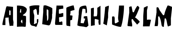 BrutalityExtra Font LOWERCASE
