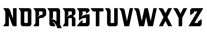 Brutals Font UPPERCASE