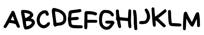 Bryndan Write Book Font UPPERCASE