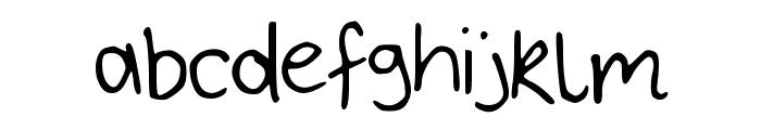 Bryonys_Handwriting_Thin Font LOWERCASE