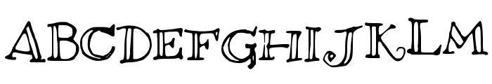 brightfuture Font UPPERCASE