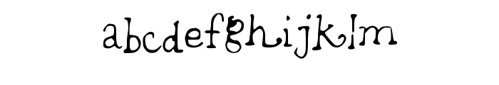 brightfuture Font LOWERCASE