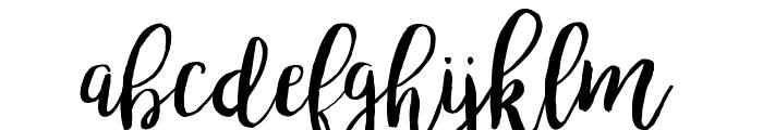 bromello Font LOWERCASE
