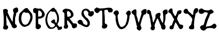 brookeshappelldots Font UPPERCASE