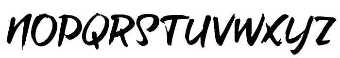 brush-tipTerrence Font UPPERCASE