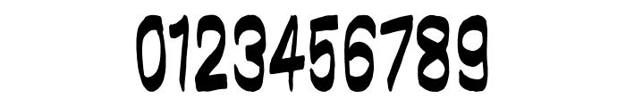 brushwall regular Font OTHER CHARS