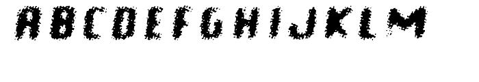Braindead Bold Oblique Font UPPERCASE