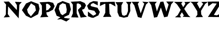 Brashee Bold Font UPPERCASE