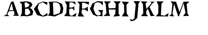 Brashee Regular Font UPPERCASE