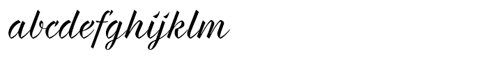 Braxton Regular Font LOWERCASE